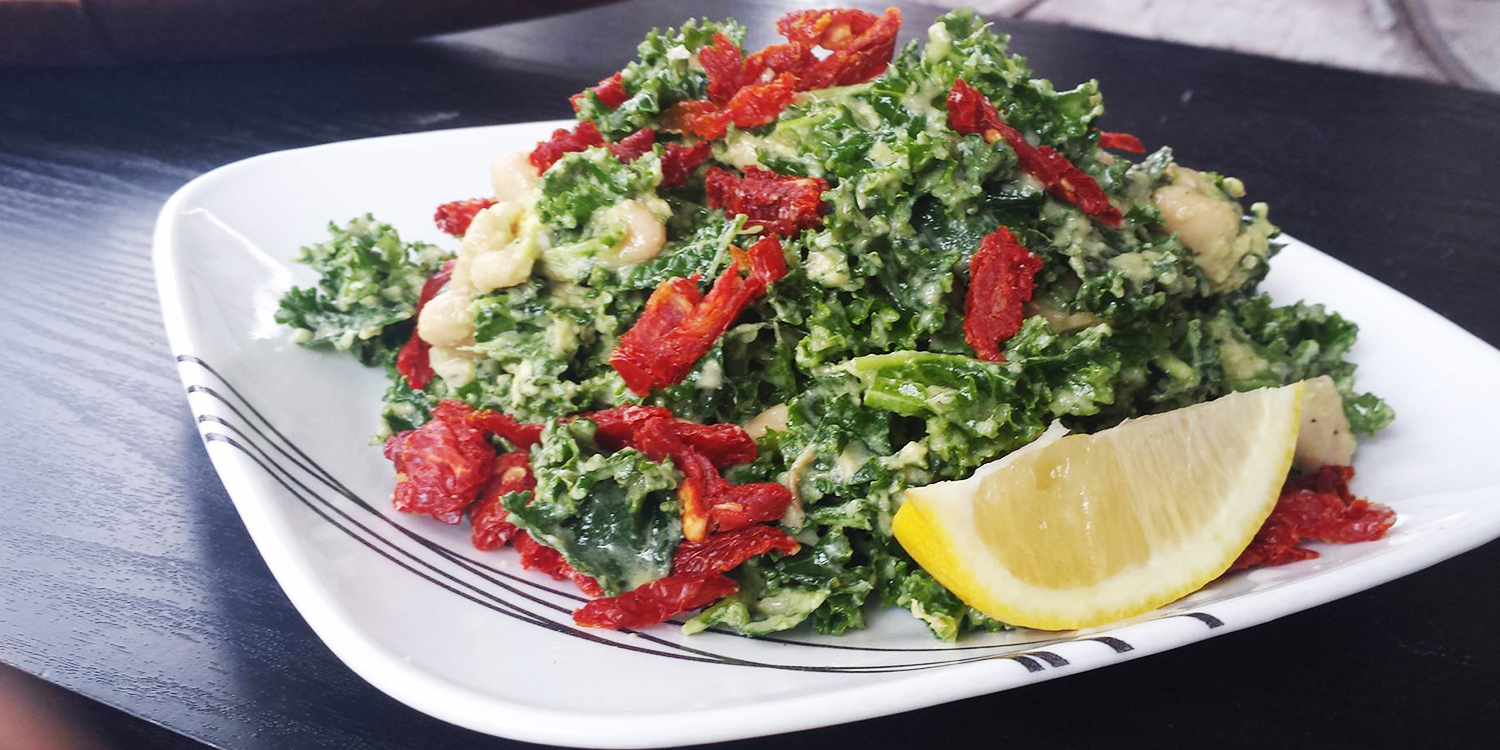 Quick and Easy Kale Salad