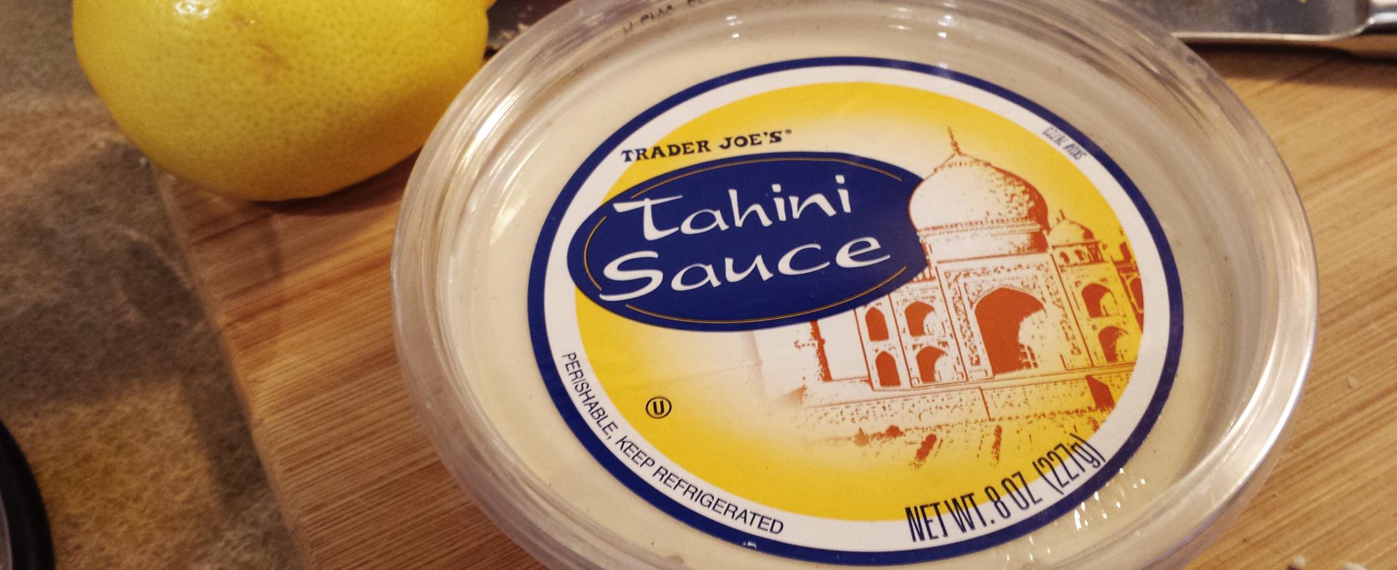 White bean tahini green goddess dip the perfect protein for Trader joe s fish sauce